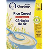 Gerber Baby Cereal, Rice, Add Water, 227-Gram
