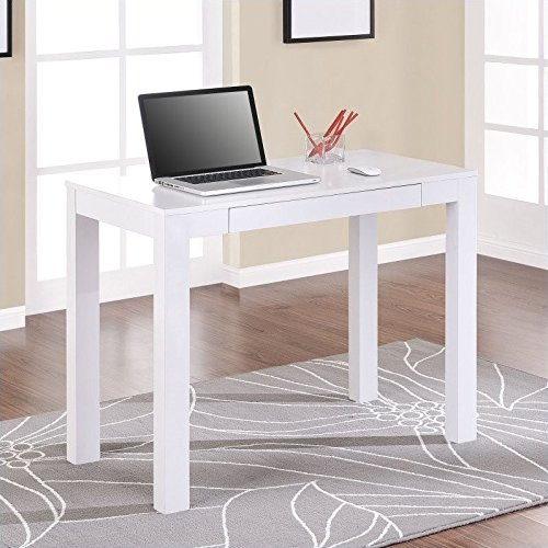 Ameriwood Home Parsons Desk (White)