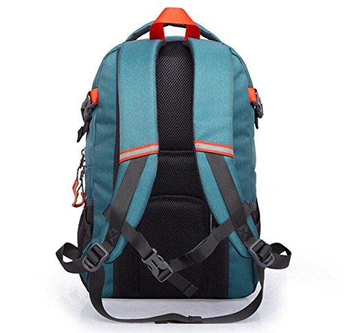 Lässige Kleidung Oxford Reisen Tasche Sport Rucksack 16-Zoll Laptop Rucksack Blue