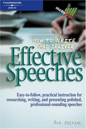 How to Write & Deliver Effctv 4th ed (Step-by-step)