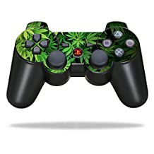 Mightyskins Protective Vinyl Skin Decal Cover for Sony PlayStation 3 PS3 Controller wrap sticker skins Weed