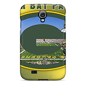 Samsung Galaxy S4 GtH623WvBN Allow Personal Design Colorful Green Bay Packers Pictures Protector Hard Cell-phone Cases -JohnPrimeauMaurice