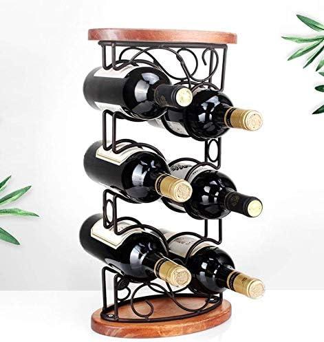 JIAHE115 wijnrek van massief hout, creatief ontwerp voor restaurant