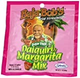 Baja Bob's Daiquiri Margarita Mix, Wild Strawberry, 2.1-Ounce Packets (Pack of 4)