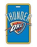 aminco NBA Oklahoma City Thunder Soft Bag Tag