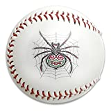 Nvthenpiaoliang Colorful Spider Crawling On The Net Soft Standard Practice Ball Baseball Game Ball