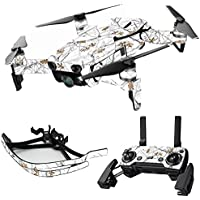 MightySkins Skin for DJI Mavic Air Drone - Conceal Snow | Max Combo Protective, Durable, and Unique Vinyl Decal wrap cover | Easy To Apply, Remove, and Change Styles | Made in the USA