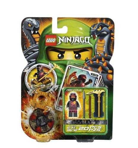 LEGO Ninjago 9572 NRG Cole (Ninjago Lego Nrg Cole)