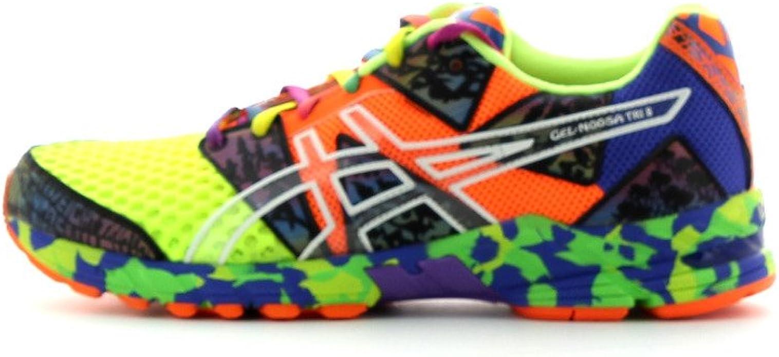 ASICS Gel-Noosa Tri 8 Zapatilla de Running Caballero, Multicolor ...