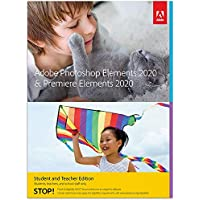 Adobe Photoshop Elements 2020 & Premiere Elements 2020 Student and Teacher