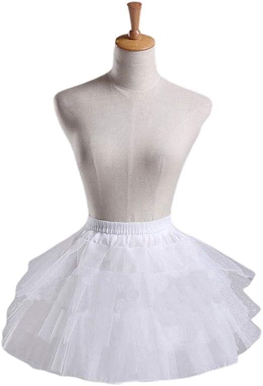 SimpleLife Enagua Nupcial para Mujer Falda Interior Faldas Slips ...