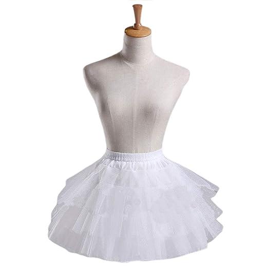 chenpaif Cosplay Maid Wear Lolita Pettiskirt Short sin Aros Enagua ...
