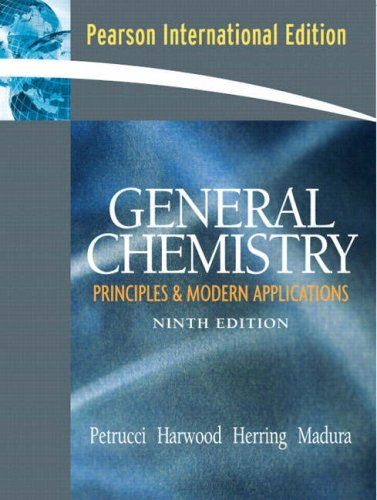General Chemistry 9th Edition Pdf