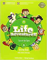 life adventures level 1 activity book with home booklet and online activities