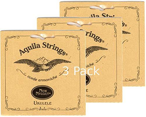 3 sets Aquila 30U Soprano Ukulele Fifths Mandolin Fiddle Tuning GDAE Wound -