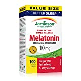 Jamieson Melatonin 10 mg Dual Action Time Release - Value Size