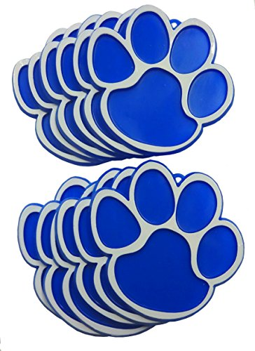 Paw Print Trinket - Royal 12pc