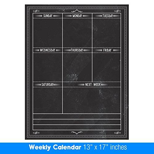 Laminated Magnetic Calendar Organizer Refrigerators