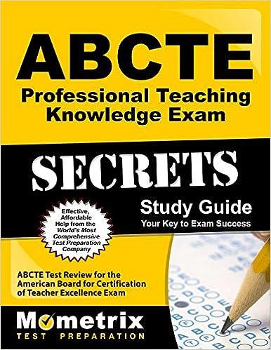 ABCTE Professional Teaching Knowledge Exam Secrets Study