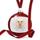 Christmas Decoration Low Poly Animals Modern design Bald Eagle Ornament