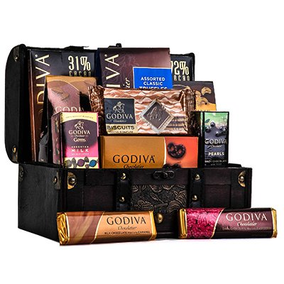 Godiva Dark & Distinctive Gift Basket