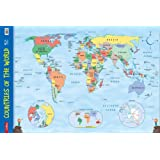 Countries of the World: Wall Map (Collins Primary Atlases)