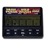 Radica Ltd, H.K. Model:1414 Radica Draw Poker Wild Deuces Royal Flush 5000 LCD Hand-held #1414