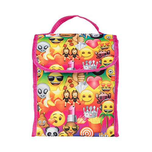 Emoji Yellow16 inch Backpack Back to School Essentials Set for Girls by FAB Starpoint (Image #2)