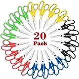 """Scissors Bulk 20-Pack, Taotree 8"""" Multipurpose"""