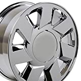 2002 buick lesabre rims - 17x7.5 Wheel Fits Cadillac, Buick, Chevy, Pontiac - Cadillac DTS Style Chrome Rim, Hollander Number 4553 - SET