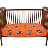 College Covers AUBCSFSPR Auburn Tigers Pair Of Fitted Crib Sheets, 28'' x 52'' x 6''
