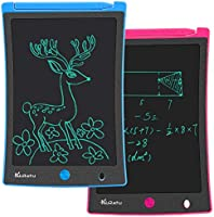 KURATU LCD Writing Tablet 2 Pack 8.5 Inch Doodle Board, Toys for 2-12 Years Old Kids, Electronic Drawing Tablet Pads,...