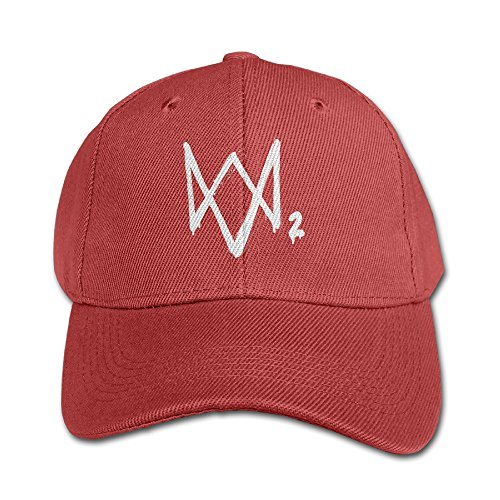 Kids Watch Dogs 2 Game Logo Baseball Cap