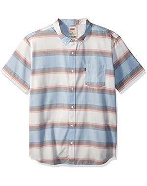 Men's Palette Short Sleeve Woven Shirt