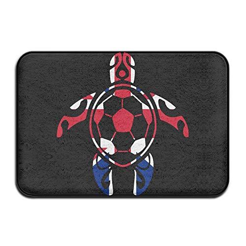 Youbah-01 Indoor/Outdoor Door Mats with British Flag Soccer Sea Turtle Graphic for Hallway by Youbah-01