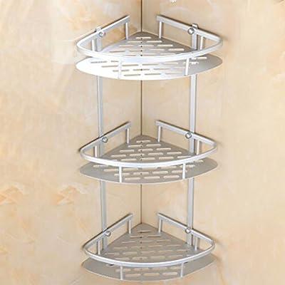 Wall Corner Rack Holder Room Shower Caddy Shelf Triangular Storage Organizer UK