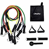 Best  - Ohuhu Resistance Bands 5 Band Set with Carrying Review
