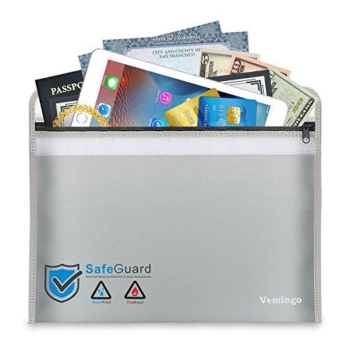 Box Waterproof Non (Fireproof Document Bag 15.8