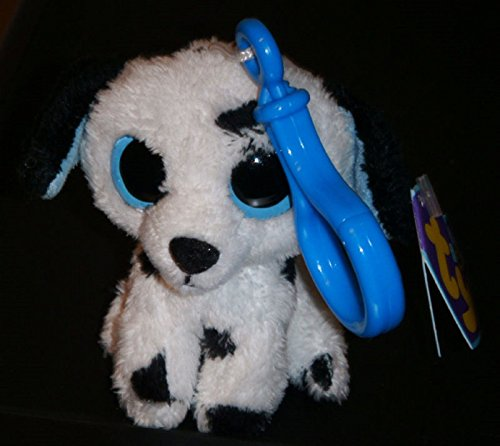 Fetch Dalmatian - Ty Beanie Boos Key Clip ~ FETCH the Dalmatian Dog (1st Gen Solid Eyes) ~ MWMT'S ,#G14E6GE4R-GE 4-TEW6W209434