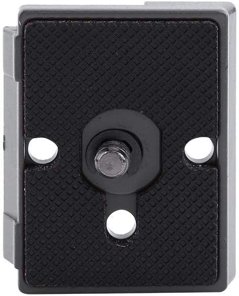 Quick Release Plate Professional for Digital SLR Camcorders Camera Mounts /& Clamps Bewinner 1//4 Screw Hole Quick Release Plate Metal Alloy Camera Fit Plate Compatible for 200PL-14
