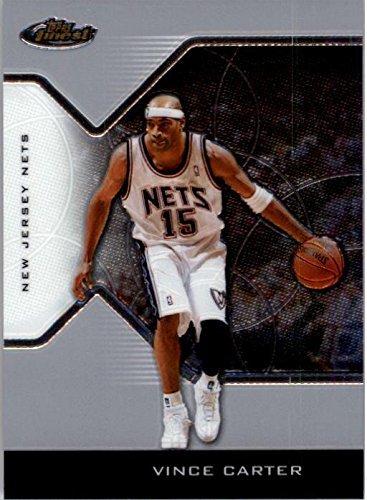 2004 Topps Nba Basketball - 2004-05 Finest #10 Vince Carter NBA Basketball Trading Card