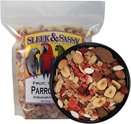 Sleek & Sassy Fruit, Veggie, Nut Parrot Treat (3 lbs.)