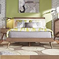 iNSPIRE Q Penelope Danish Modern Platform Bed Modern Oak Finish Twin