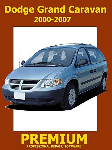 Dodge Grand Caravan Repair Software (DVD) 2000 2001 2002 2003 2004 2005 2006 2007