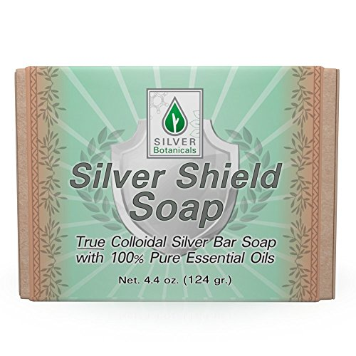Silver Shield Soap - 100% Natural Silver Soap