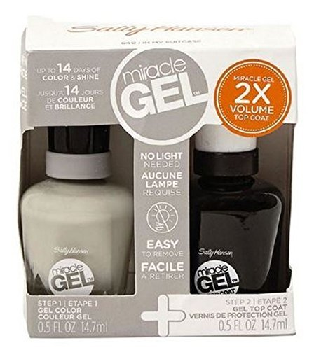 Sally Hansen Miracle Gel Duo - 640 In My Suitcase & 101 Top