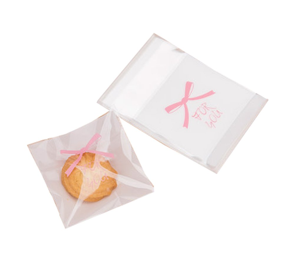 100 Pieces Baking Food Bags Gift Snacks Cookie Bag 10*7cm-A1 Dragon Sonic