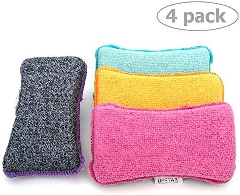 Microfiber Scrubber Sponge Non Scratch Dishwashing product image