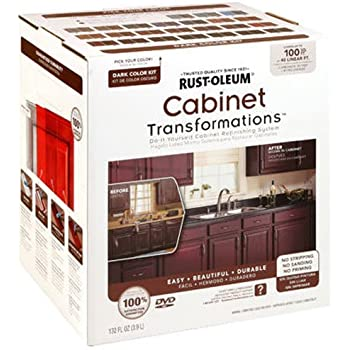 RUST-OLEUM 258240 Dark Tint Base Cabinet Transformations Kit, Small