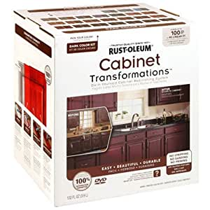 RUST-OLEUM 258240 Dark Tint Base Cabinet Transformations Kit, Small